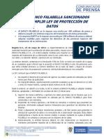 """SIC multa a Banco Falabella y Rappi por """"incumplir ley de protección de datos"""""""
