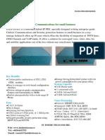 INS50 IPPBX Datasheet V2.0