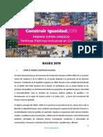 CONSTRUIR IGUALDAD-2019
