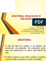 ORATÓRIA, EDUCAÇÃO E RELIGIÃO.ppt