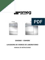 Manual Lavadora de Vidrios- Es