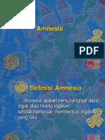Amnesia Ppt