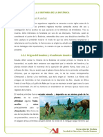 Historia de La Botanica El Hombre y Las