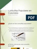 Consultas Populares en Colombia