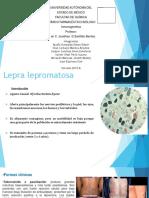 Caso Lepra Lepromatosa