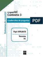 Examen Del Alumno Español Bloque 3