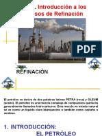 Tema 1. Introducción El Petroleo y La Refinación en Venezuela