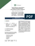 Practica No.7 Antena Parabólica