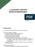 Evaluación y Gestión Negocio Inmobiliario 24.07