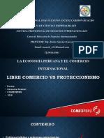 La Economia Peruana y El Comercio Internacional