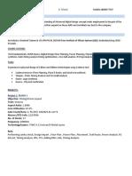 Triveni Resume PDF