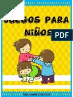 33 Juegos Para Niños 1