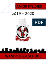 wando program of studies 2019-2020