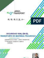 día mundial acreditación 2018%2F5_Presentación Cargo Transport - Seguridad Vial en Transporte de Material Peligroso.ppt