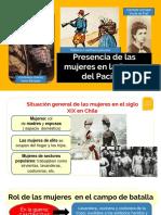 Mujeres Guerra Del Pacifico