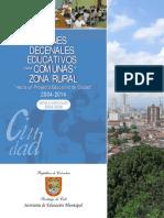 Planes decenales educativos para comunas y zona rural