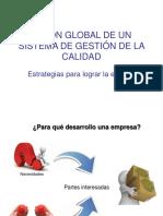 Presentación global de calidad para iniciar un SGC
