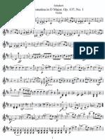 Schubert Sonatina in D major
