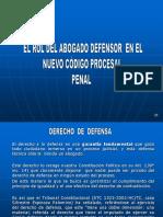 Rol del Abogado Defensor en el NCPP.ppsx