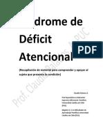 Documento Síndrome de Déficit Atencional completo.pdf