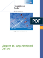 Organizational Behaviour Chapter16