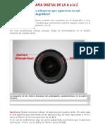Fotografia Digital de La a a La z