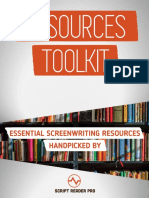 Screenwriter Resources Toolkit