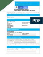 Anexo 1 Formulario de Participación