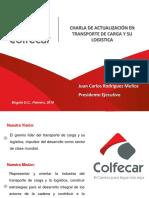 Charla de Acuualización en Transporte de Carga y Su Logistica