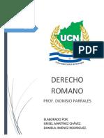 Trabajo Uniones Licitas Derecho Romano Grisel