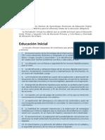 Nap de Educación Digital Programación y Robótica - Inicial