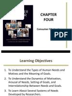 Consumer Behavior Chapter 4 Motivation