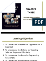 Chapter 3 Market Segmentation and Strategic Targeting