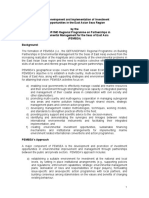 Development and Implementation of Investment Opportunities in the East Asian Seas Region Project Proposal