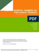 IDde8edfc5b-1993 am general hummer oil pan gasket manual