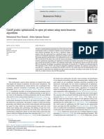 Cutoff Grades Optimization in Open Pit Mines Using Meta-heuristic