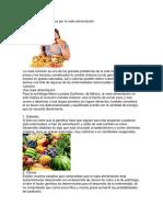 Enfermedades Causadas Por La Mala Alimentación