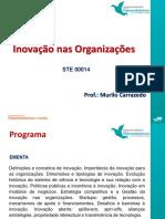 Inovação nas organizações - Aulas 1-5.pdf