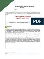 4 Formato Para Presentacion de Proyectos