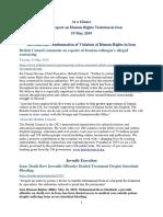 19.05.19, Human Rights Bulletin