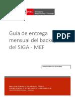 Guía de Entrega de Backups Del SIGA_Dirigido a OGTI