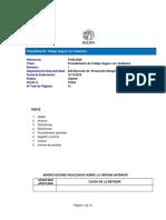 P-822-0023 Procedimiento Operativo Normalizado Para Rescate en Alturas