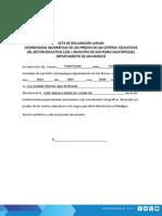 Declaracion Jurada 1202.1 Parvulos