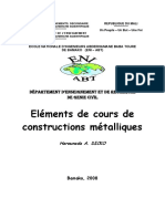 Cours de Construction Métallique
