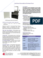 Oil-Solvent Extractables Content Technical Datasheet