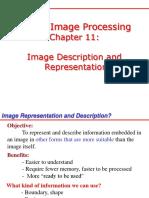 Image Representationn and Description