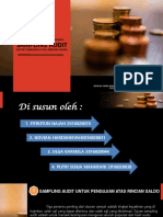 Sampling Audit Utk Pengujian Atas Rincian Saldo Kel 4