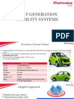 Next Genration Mobility Solutions