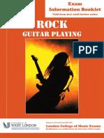 Rock Guitar Booklet
