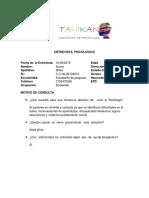 Protocolo de Entrevista Modelos